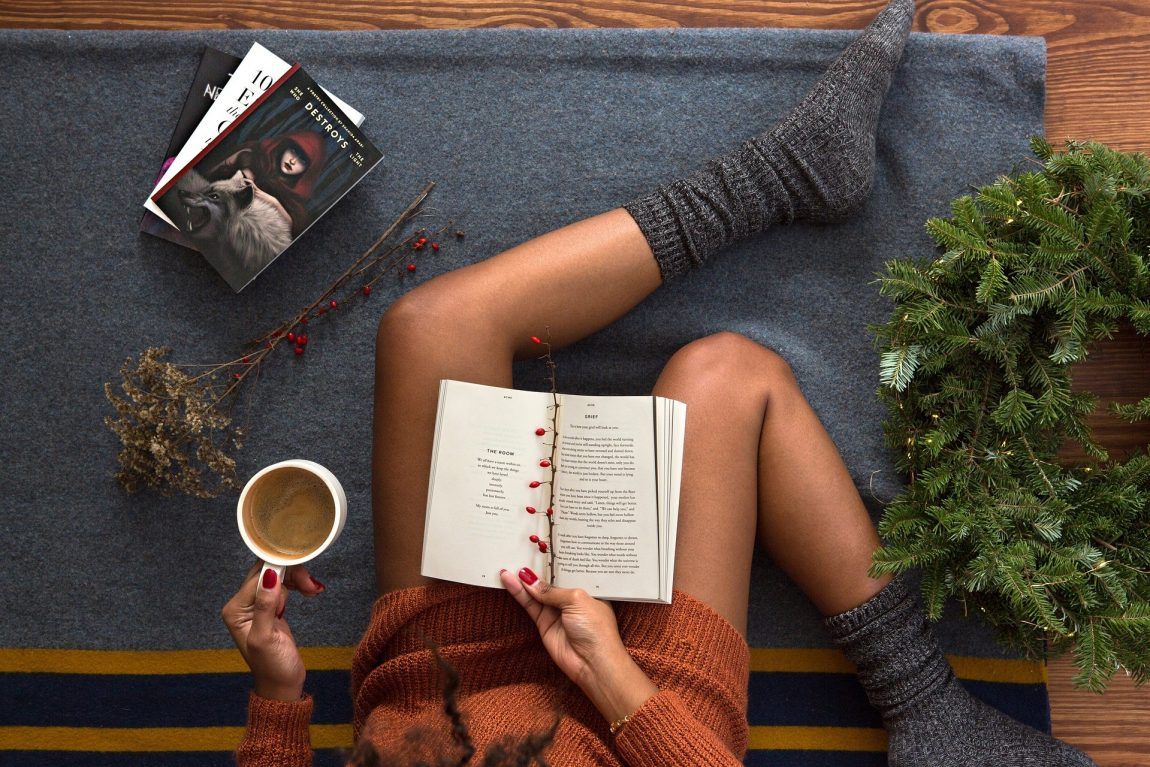 Use Books to Minimize Your Holiday Stress