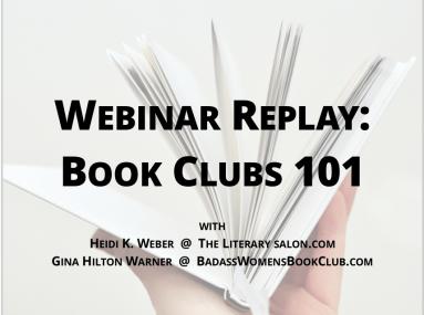 Webinar Replay: Book Clubs 101